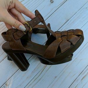 Franco Sarto Shoes - Franco Sarto leather sandals SALE *see description